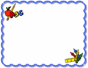 School themed border clipart clipart stock Baby Clip Art Borders And Frames | Free download best Baby Clip Art ... clipart stock