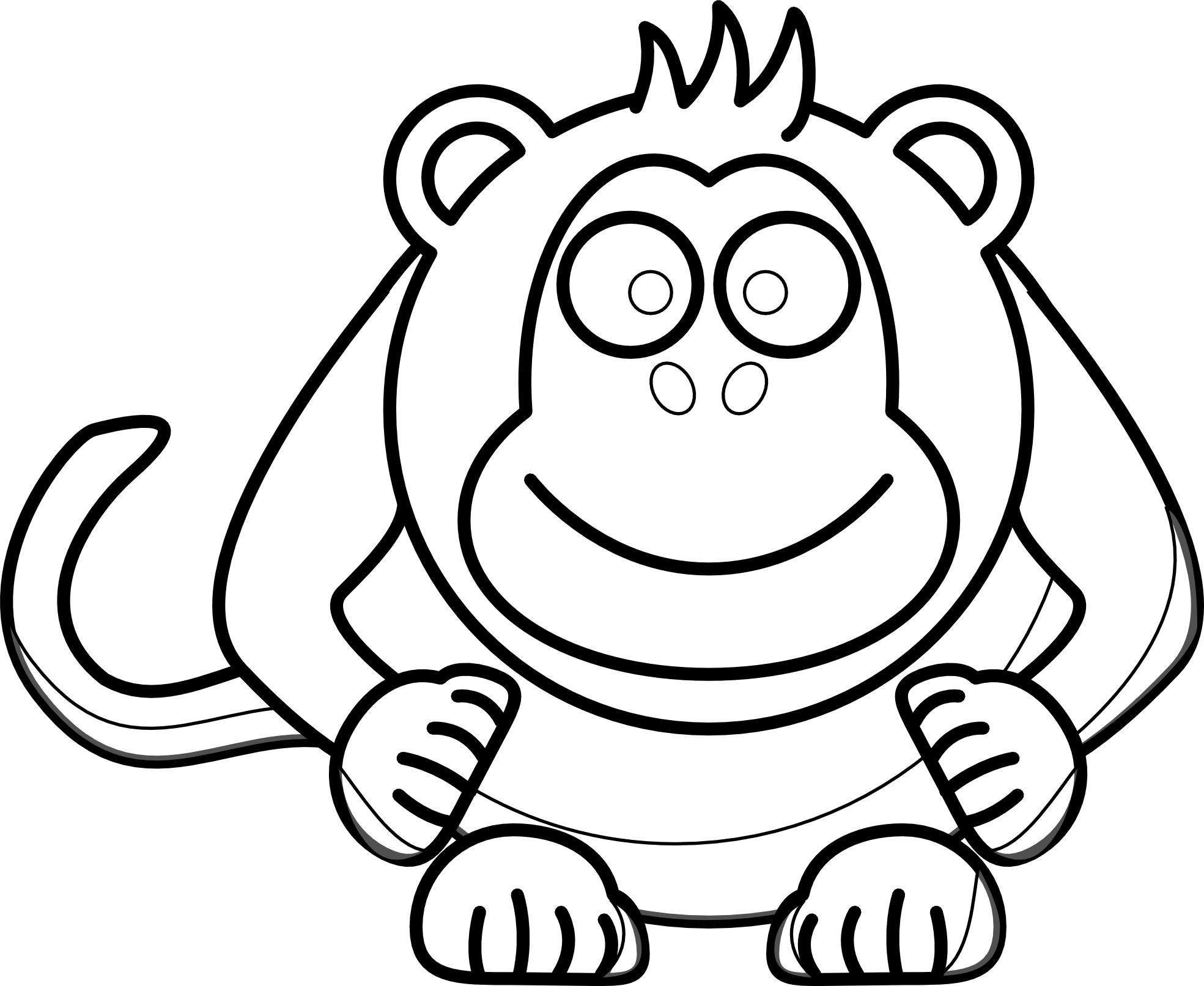 Baby book clipart free image transparent stock Baby Monkey Face Clip Art | Clipart Panda - Free Clipart Images image transparent stock