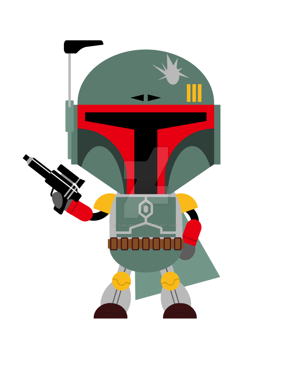 Star wars clipart boba fett jpg royalty free A lot of free downloadable Star Wars clip art | Star Wars Baby ... jpg royalty free