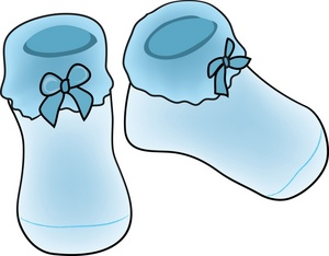 Baby booties clipart free clipart Baby Boy Booties Clipart - Free Clipart clipart
