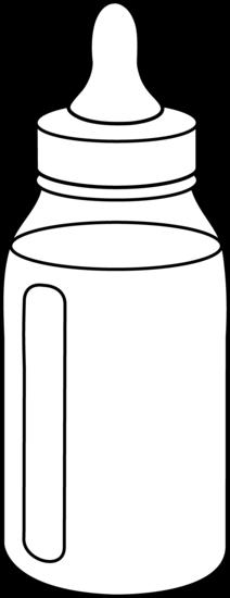 Baby bottle black and white clipart jpg black and white stock Free Baby Bottle Cliparts, Download Free Clip Art, Free Clip Art on ... jpg black and white stock