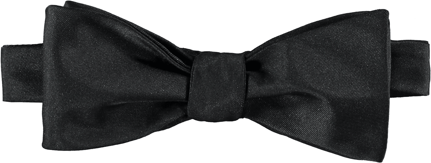 Baby bow tie clipart black and white svg black and white download Black Silk Bow Tie - Leather - Download Clipart on ClipartWiki svg black and white download