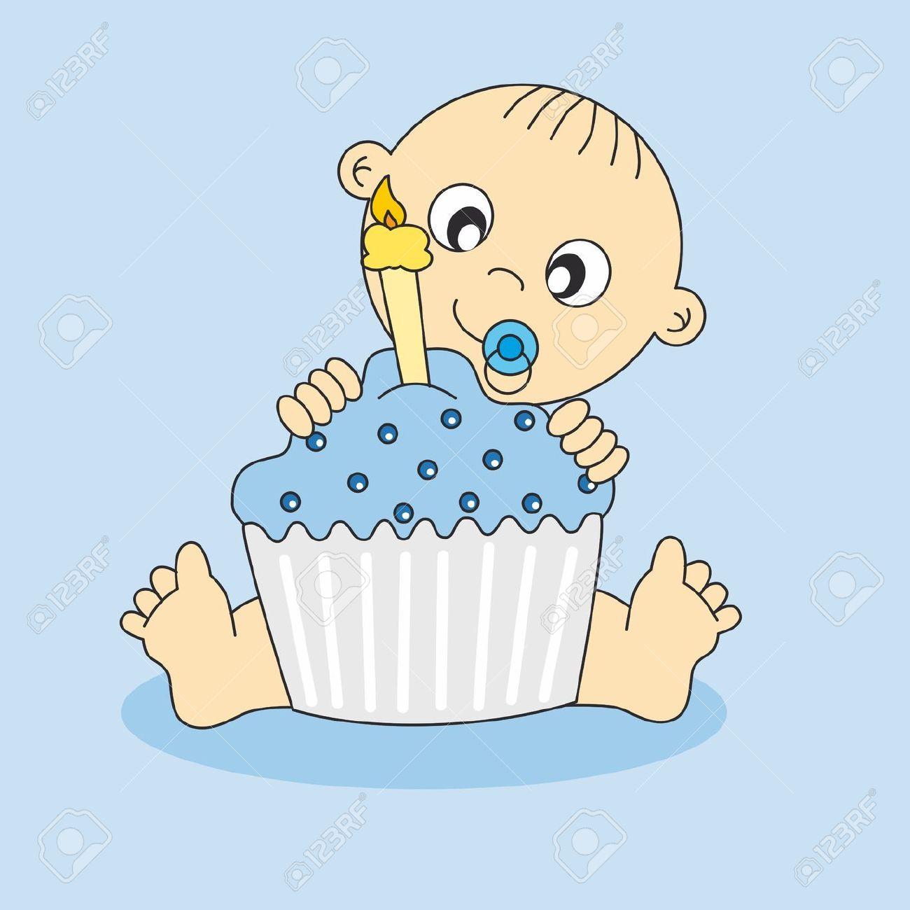 Baby boy 1st birthday clipart clip art royalty free Baby boy 1st birthday clipart - ClipartFest clip art royalty free