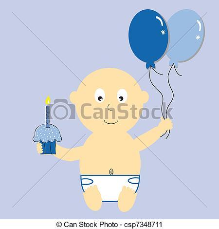 Baby boy 1st birthday clipart clip art First birthday Stock Illustrations. 2,194 First birthday clip art ... clip art