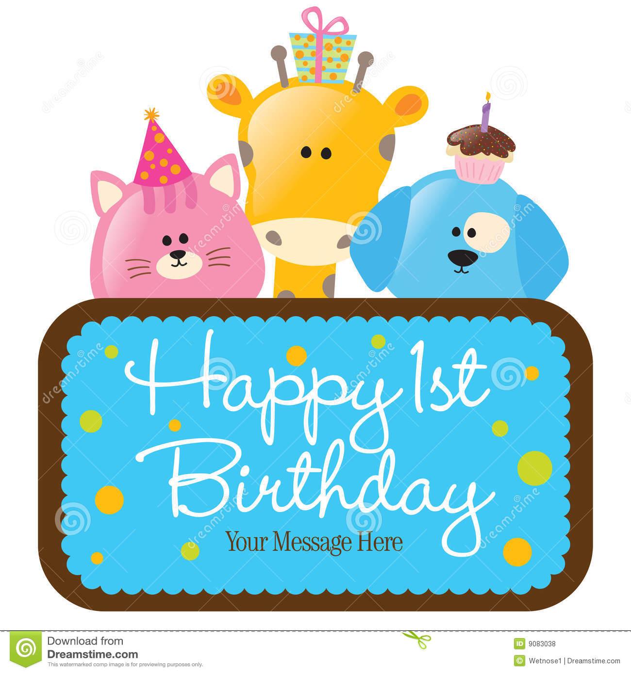 Baby boy 1st birthday clipart vector download Baby boy 1st birthday clipart - ClipartFest vector download