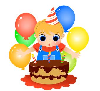 Baby boy 1st birthday clipart image royalty free download 1st Birthday Boy Clipart - Clipart Kid image royalty free download