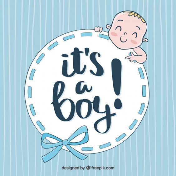 Baby boy background free clipart jpg Cute baby boy background in hand drawn style Free Vector | some ... jpg