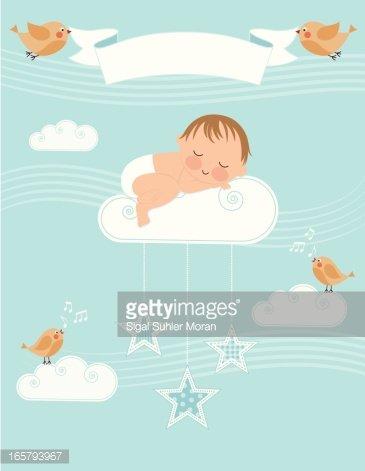 Baby boy birth announcement clipart svg library library Baby Boy Birth Announcement premium clipart - ClipartLogo.com svg library library