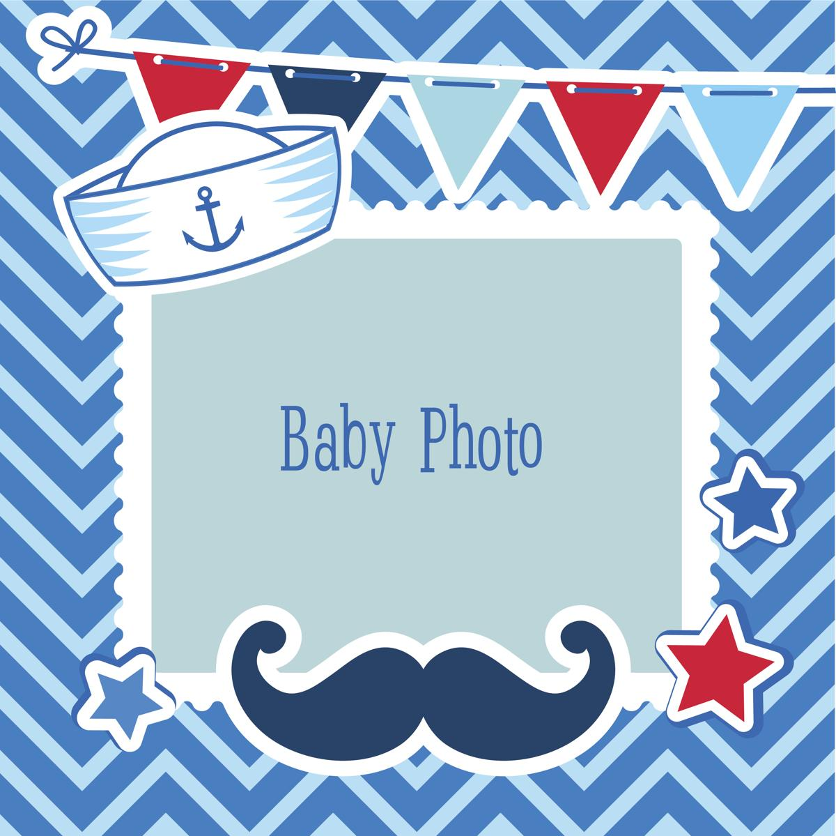 Baby boy birth announcement clipart banner royalty free download Amazingly Creative Birth Announcement Templates banner royalty free download