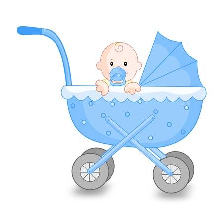 Baby boy carriage clipart png Baby boy carriage clipart 6 » Clipart Station png