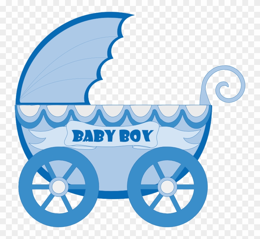 Baby boy clipart blue clip black and white stock Baby Clip Art, Baby Images, Baby Prams, Baby Carriage, - Baby ... clip black and white stock