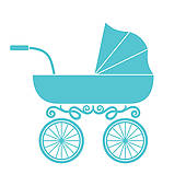 Baby boy carriage clipart clip royalty free download Baby boy carriage clipart 5 » Clipart Station clip royalty free download