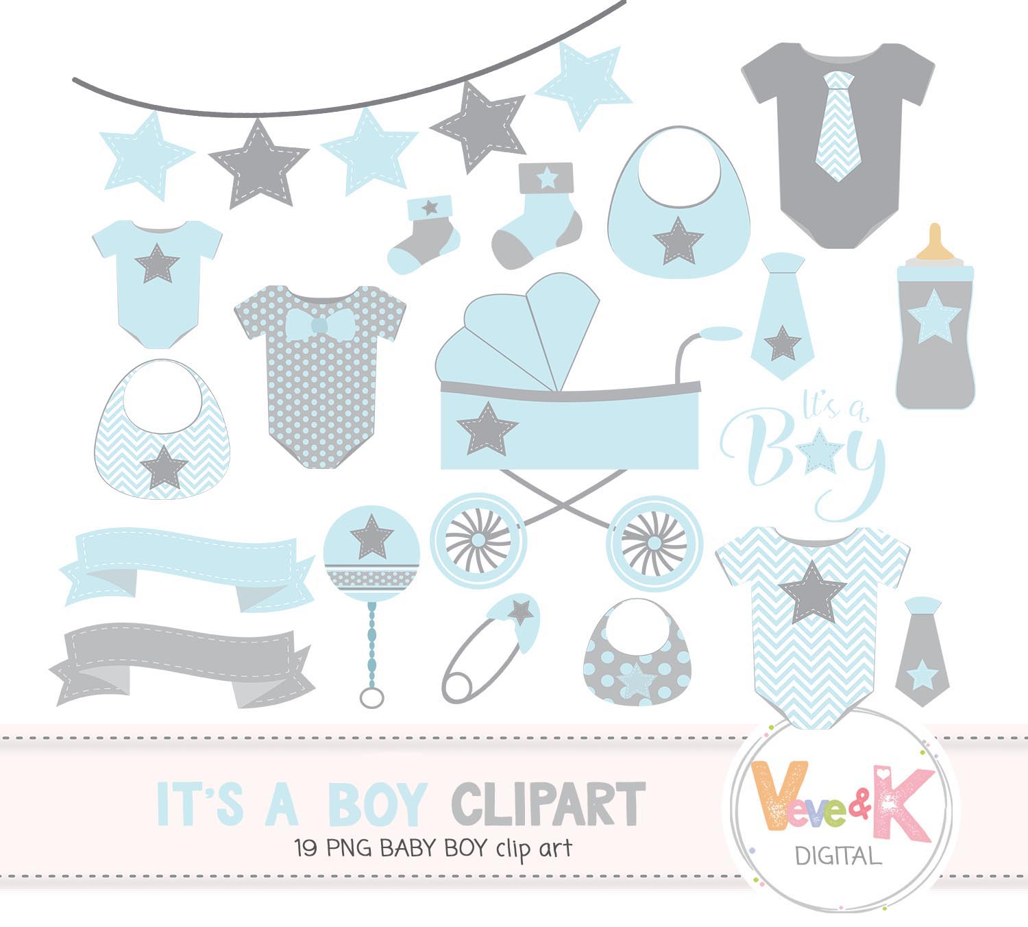 Clipart baby boy picture free stock Baby Clip Art, Baby Boy Clipart, Baby Boyl Baby Shower DIY, Its a Boy, Blue  and Gray Baby Shower, Baby Shower Clipart picture free stock