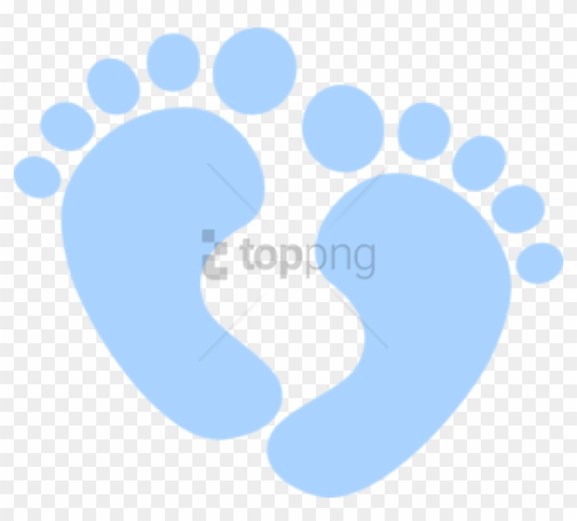 Free Png Baby Boy Footprints Png Image With Transparent - Baby Foot ... image stock