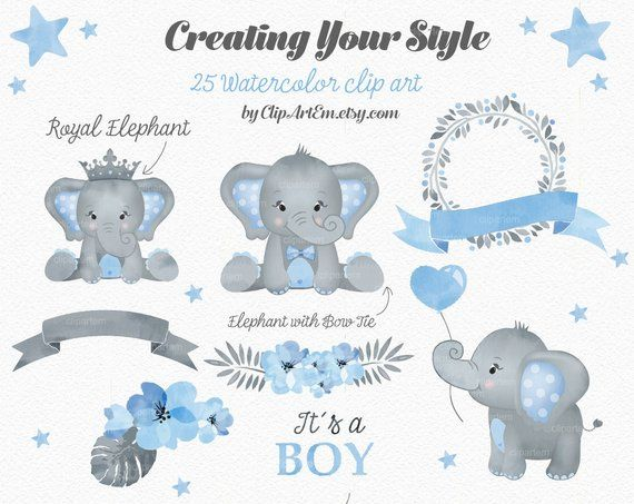 Baby boy elephant and letter l clipart free vector stock Elephant Boy clip art, watercolor. Watercolor Baby Peanut clipart ... vector stock