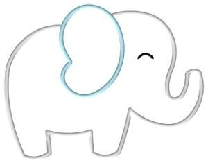 Baby boy elephant and letter l clipart free png transparent library Free Elephant Applique Pattern | Big Elephant Applique by Jody ... png transparent library