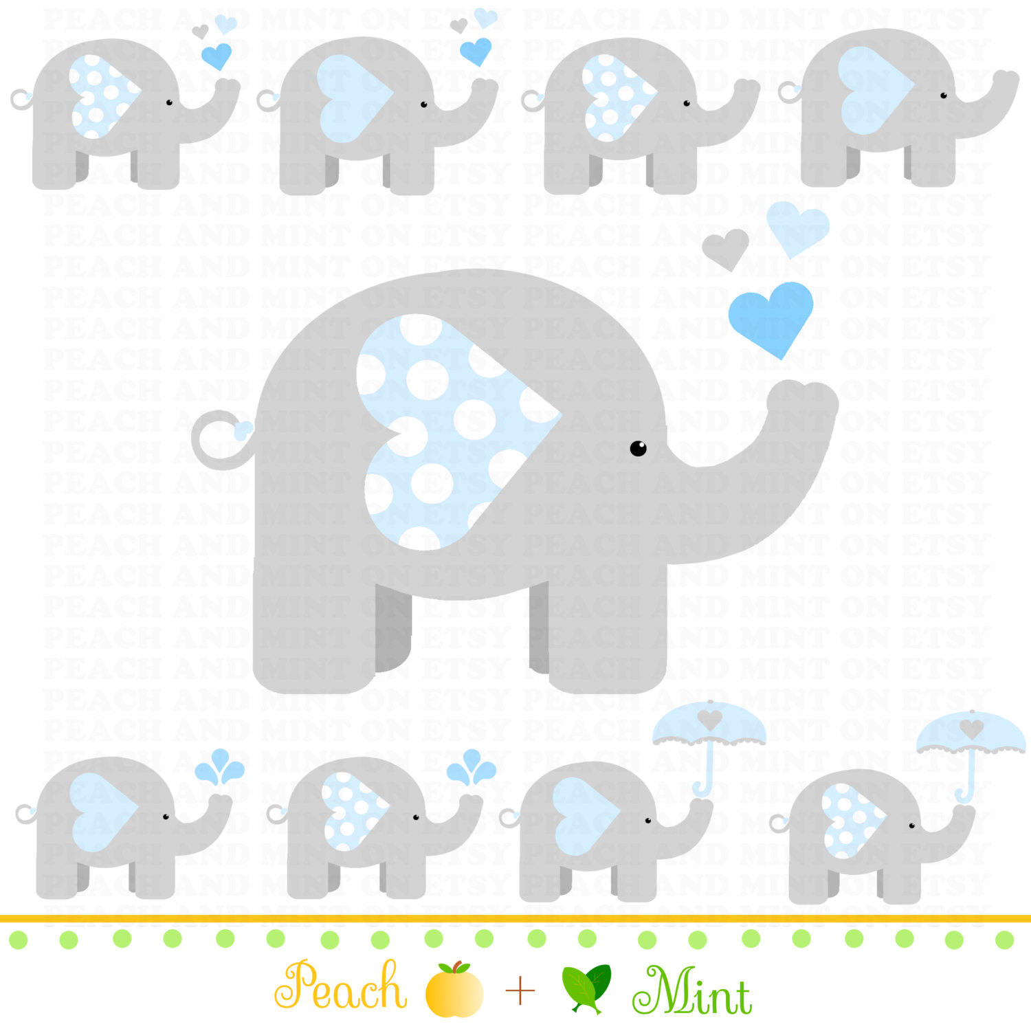 Baby boy elephant clipart png freeuse library 41+ Baby Shower Elephant Clip Art | ClipartLook png freeuse library