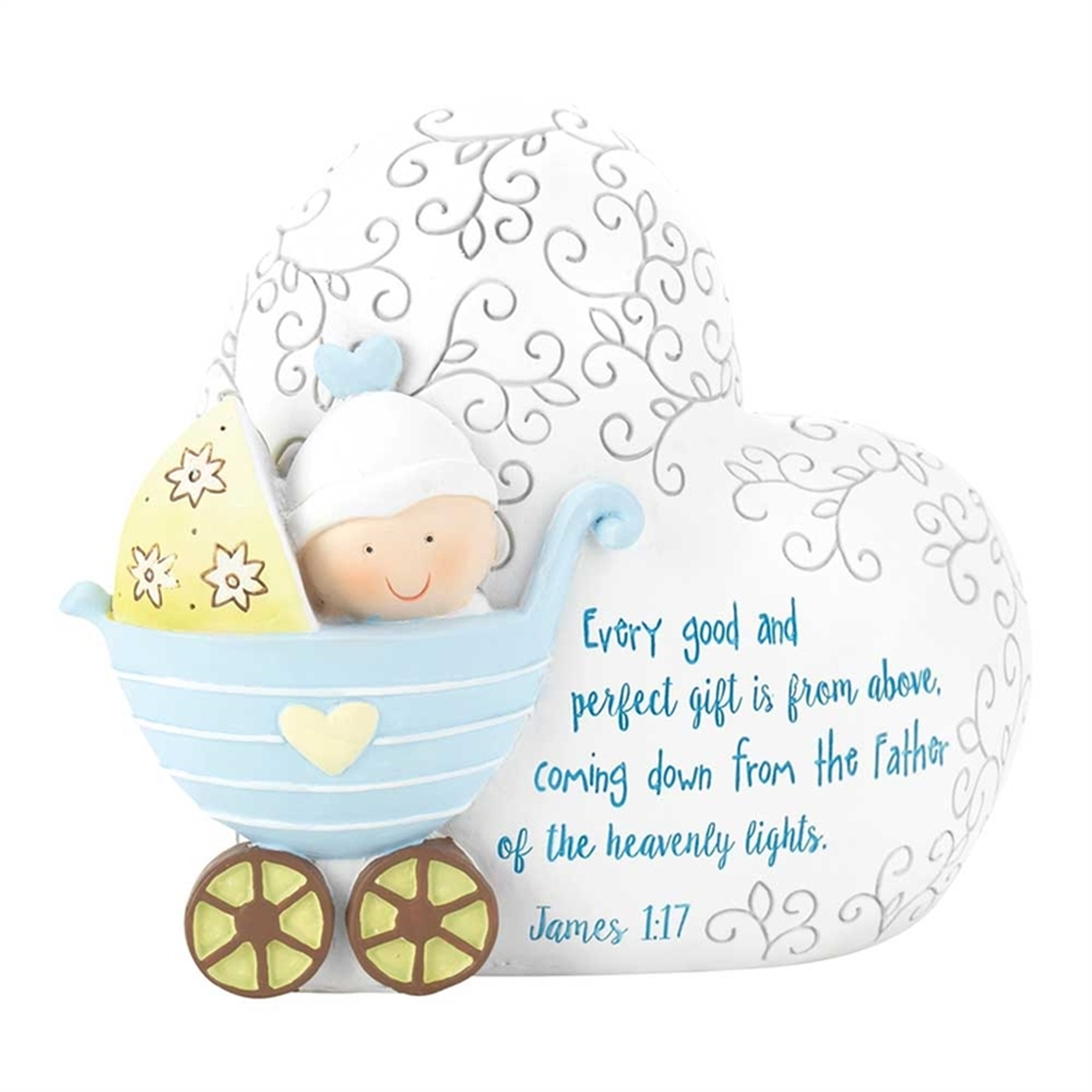 "Baby boy gifts clipart png free library Baby Boy Bank | 7-3/4"" x 6-1/4"" 