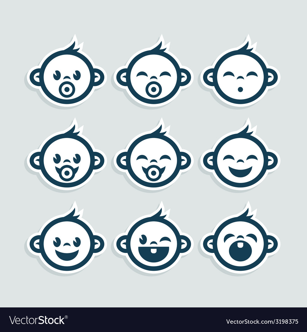 Baby boy icons clipart svg transparent Cute Baby Boy Icons svg transparent