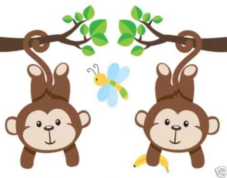 Baby boy monkey clipart clip art black and white Baby Monkey Clipart | www.skinnylattestrikesback.com clip art black and white