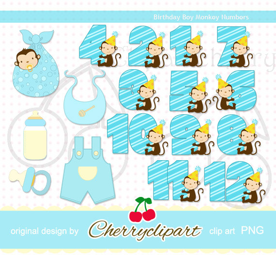 Clipartfest icons brithday . Baby boy number 1 clipart