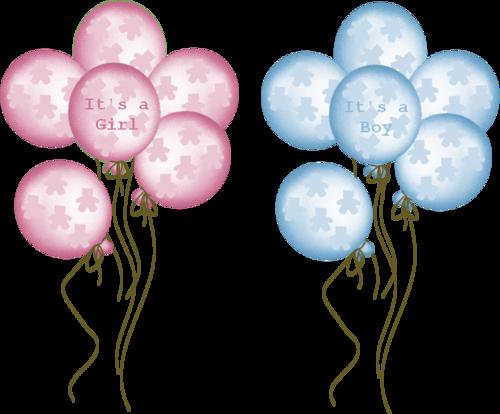 Baby boy shower balloons clipart clip black and white BABY BALLOONS | CLIP ART - BABY - CLIPART | Baby boy scrapbook, Baby ... clip black and white
