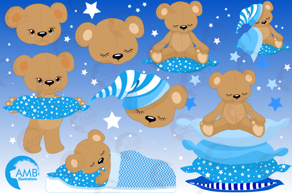 Baby boy teddy bear clipart clipart library stock Teddy bear, nursery, baby boy, baby blue bear, clipart, graphics,  llustrations AMB-982 clipart library stock