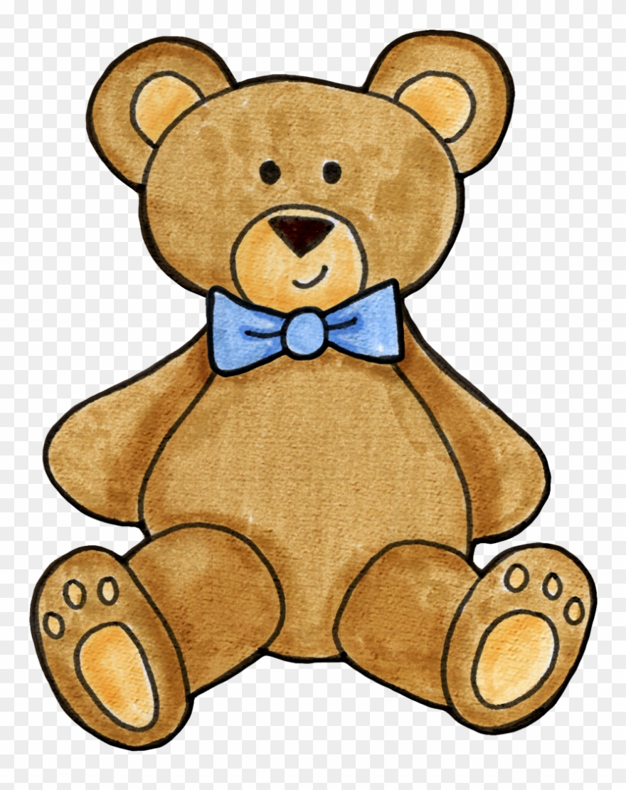 Baby boy teddy bear clipart image library library Teddy Bear Clipart Boy, Bear Illustration, Crewel Embroidery ... image library library