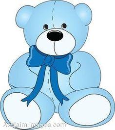 Baby boy teddy bear clipart clip transparent stock Baby Boy Teddy Bear Graph and Word Chart Crochet by StrangsStrings ... clip transparent stock