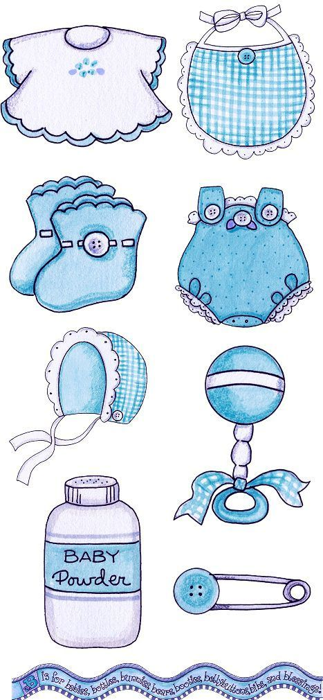 baby boy things | Paper Dolls | Baby clip art, Baby e Baby shower png library library