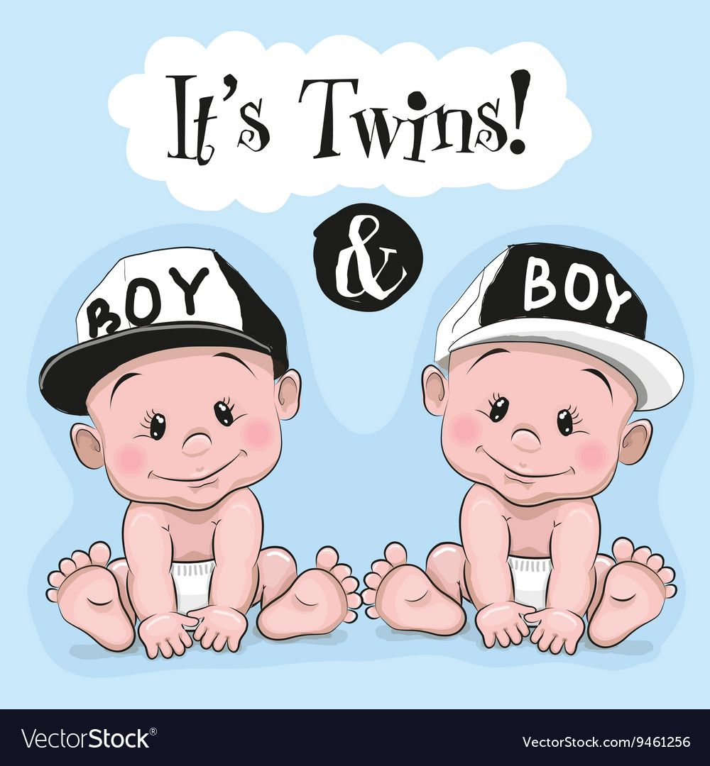 Baby boy twin clipart svg freeuse stock Pin by Vesna Širanović on Decoupage | Baby cartoon, Baby clip art ... svg freeuse stock