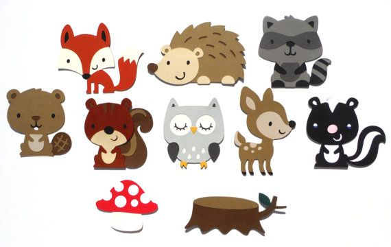 Baby boy woodland animal clipart graphic royalty free download Baby Shower Woodland Animal Theme It\'s A Boy by ScrapsToRemember ... graphic royalty free download