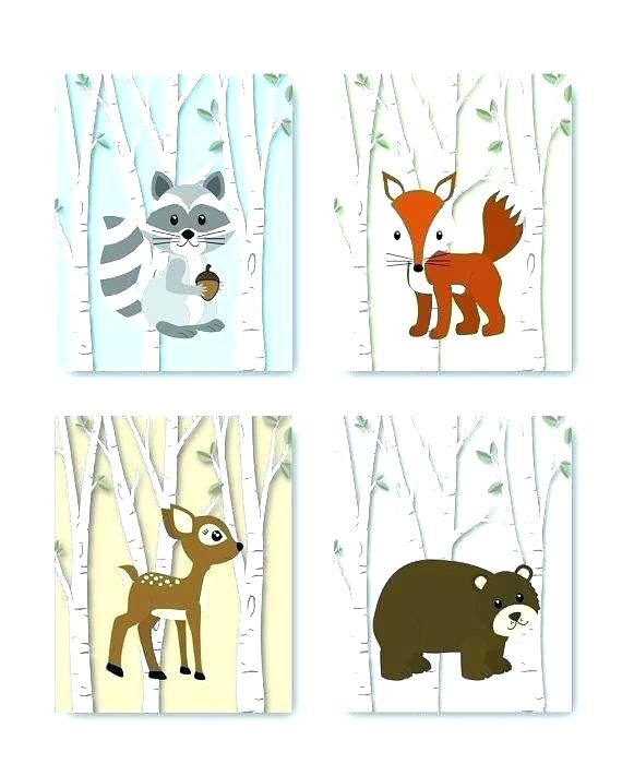 Baby boy woodland animal clipart clip freeuse library animals in woodland – finansov.info clip freeuse library