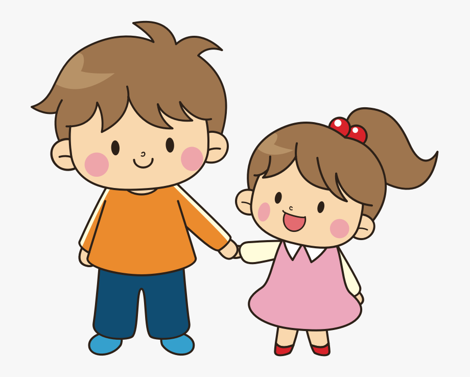 He is younger clipart black and white banner black and white Older Brother Younger Sister - Brother And Sister Cartoon #95288 ... banner black and white