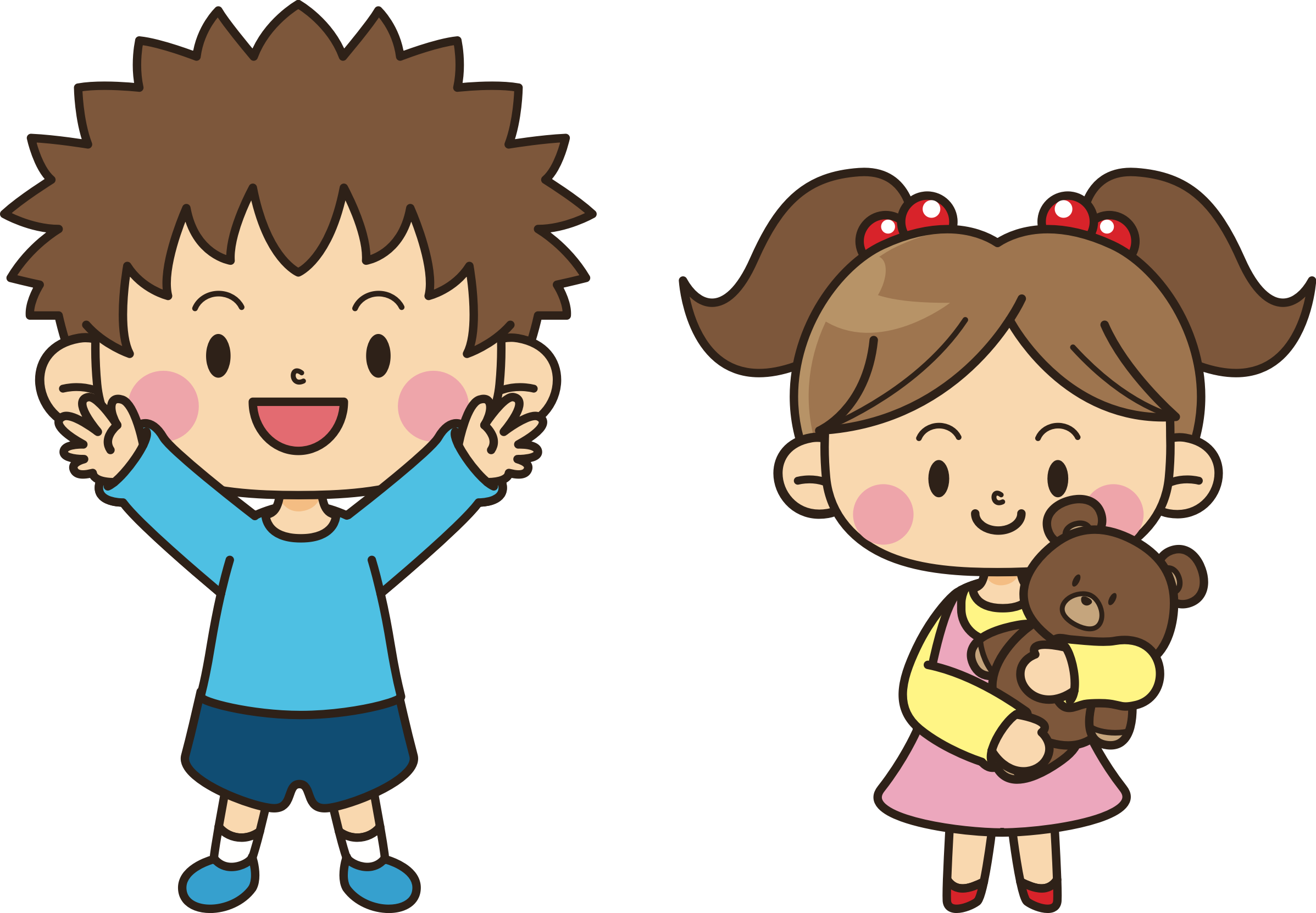 Cartoon clipart siblings banner black and white library Brother Clipart | Free download best Brother Clipart on ClipArtMag.com banner black and white library