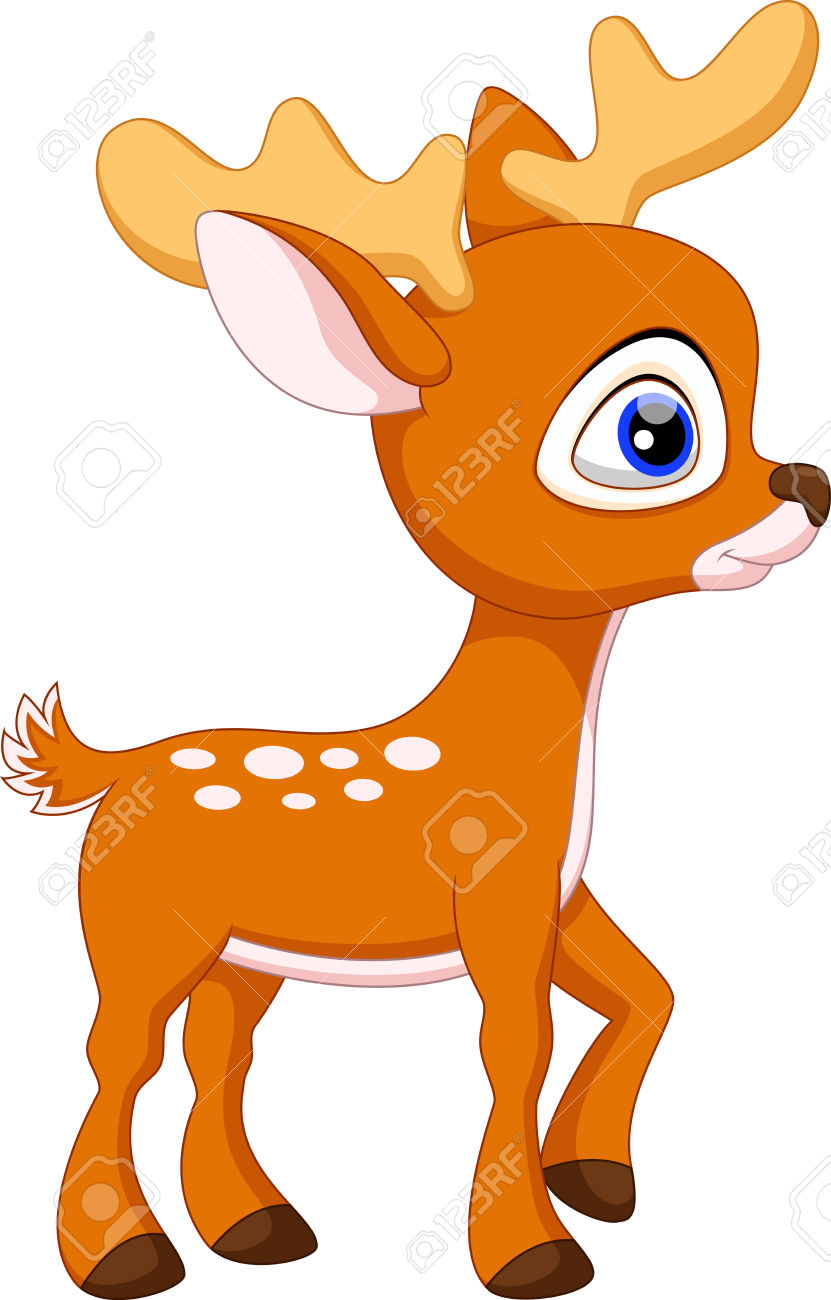 Baby buck clipart image royalty free Baby Deer Clipart | Free download best Baby Deer Clipart on ... image royalty free