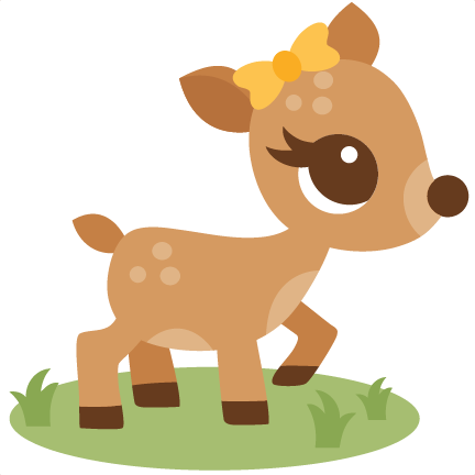 Baby buck clipart png free Baby deer deer clipart - WikiClipArt png free