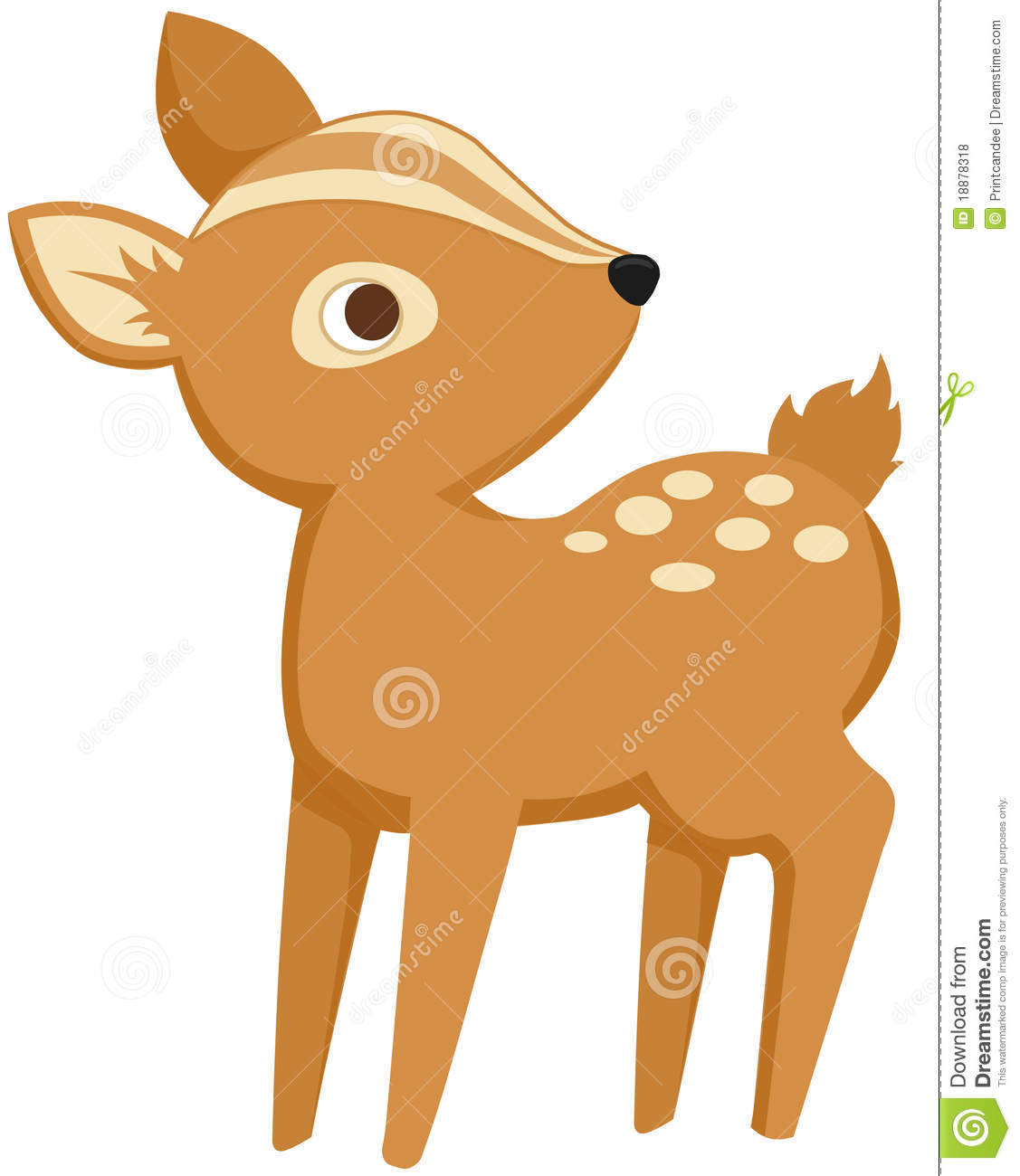 Baby buck clipart banner freeuse stock Baby Deer Clipart & Look At Clip Art Images - ClipartLook banner freeuse stock