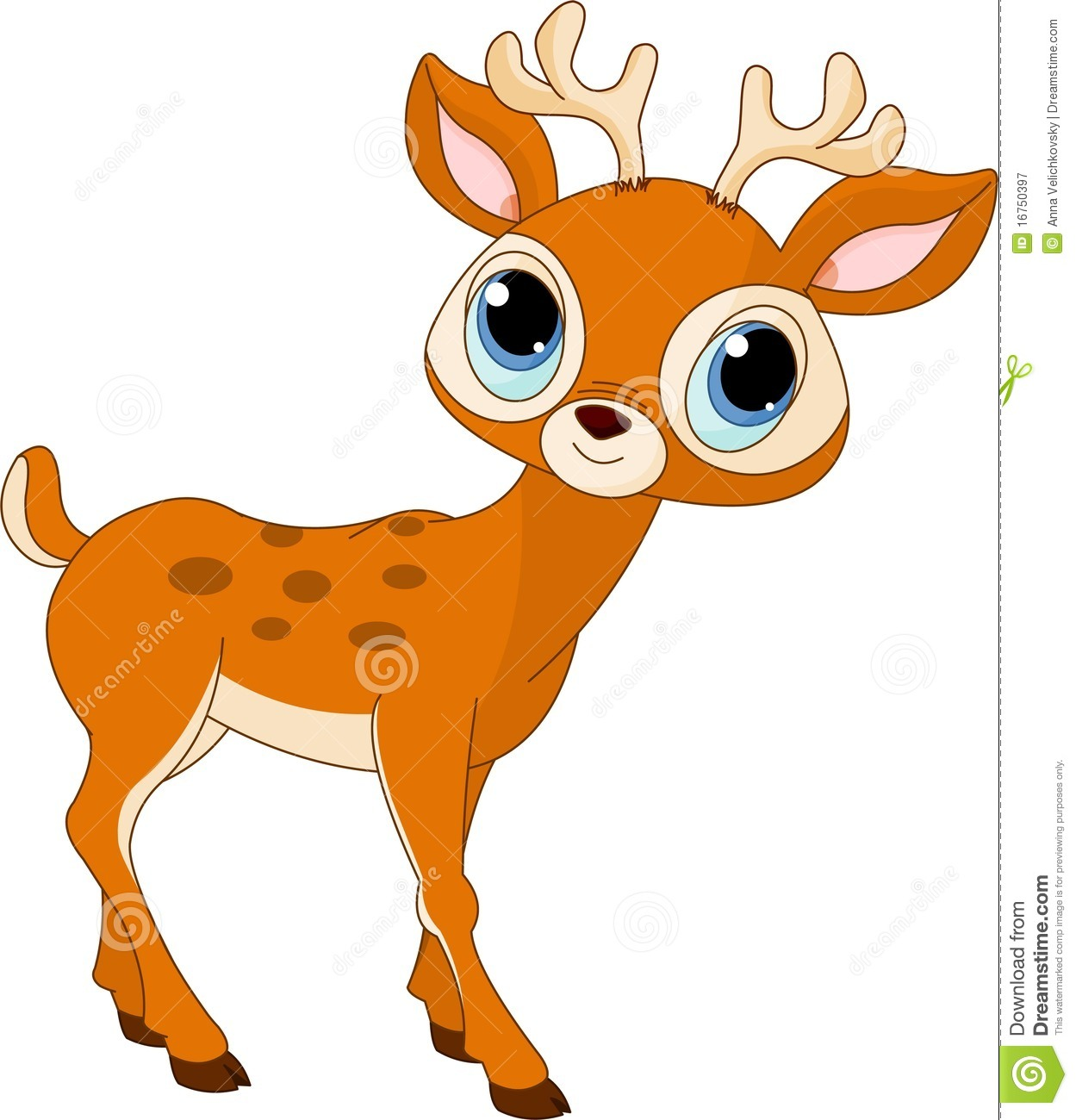 Baby buck clipart picture free library Cute Baby Deer Clipart | Clipart Panda - Free Clipart Images picture free library