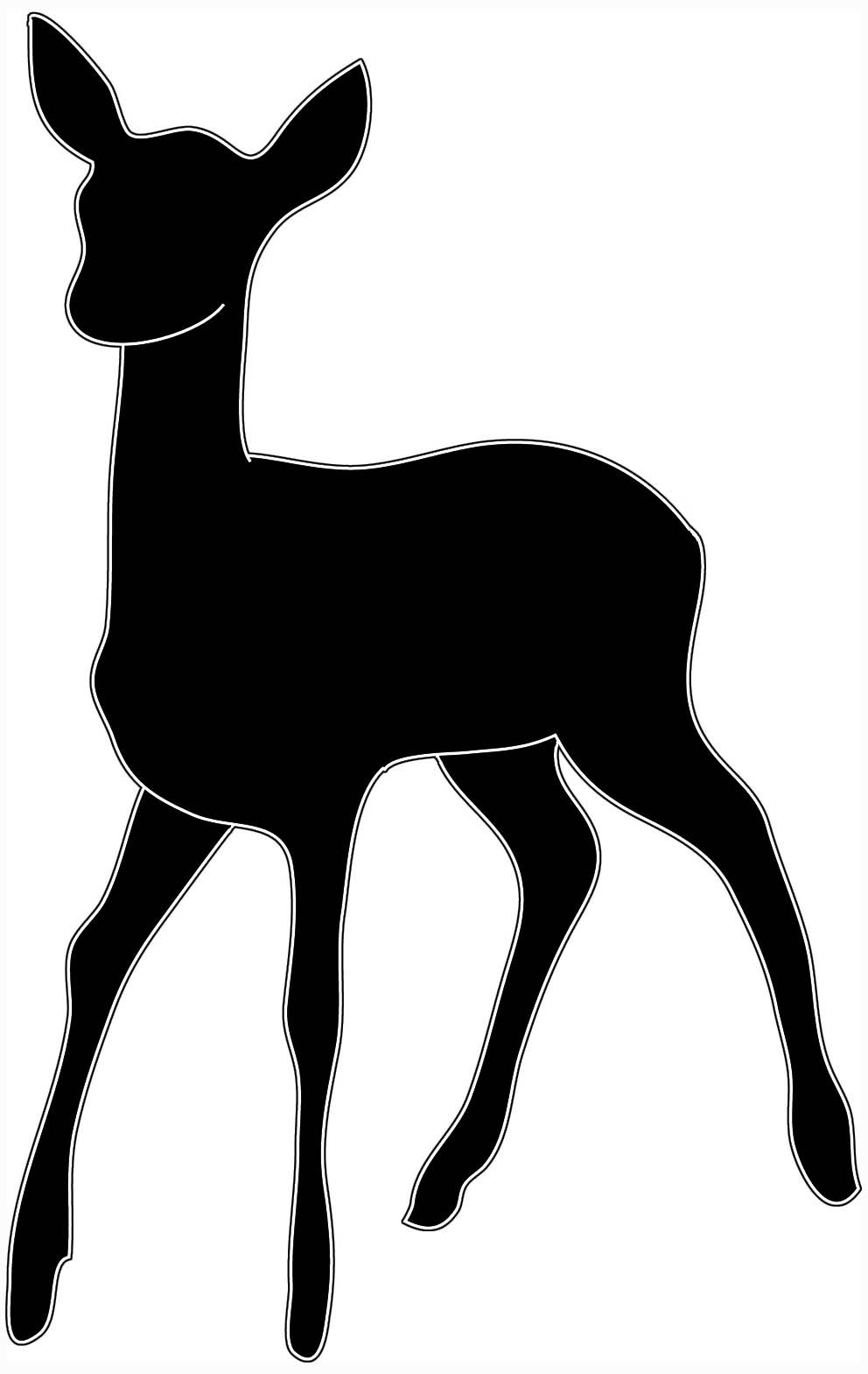 Black and white clipart of roger troutman graphic transparent Deer Head Clipart Black And White | Clipart Panda - Free Clipart ... graphic transparent