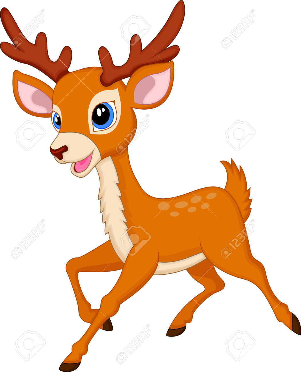 Baby buck head clipart vector transparent library Baby Deer Clipart | Free download best Baby Deer Clipart on ... vector transparent library