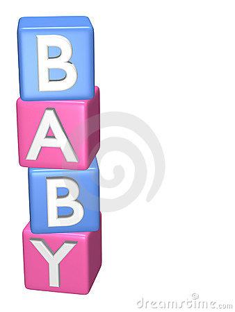 Baby building blocks clipart. S stock illustrations babys