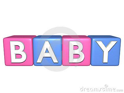 S stock illustrations babys. Baby building blocks clipart