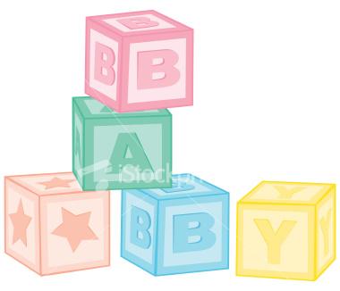 Clipartfest download vector . Baby building blocks clipart