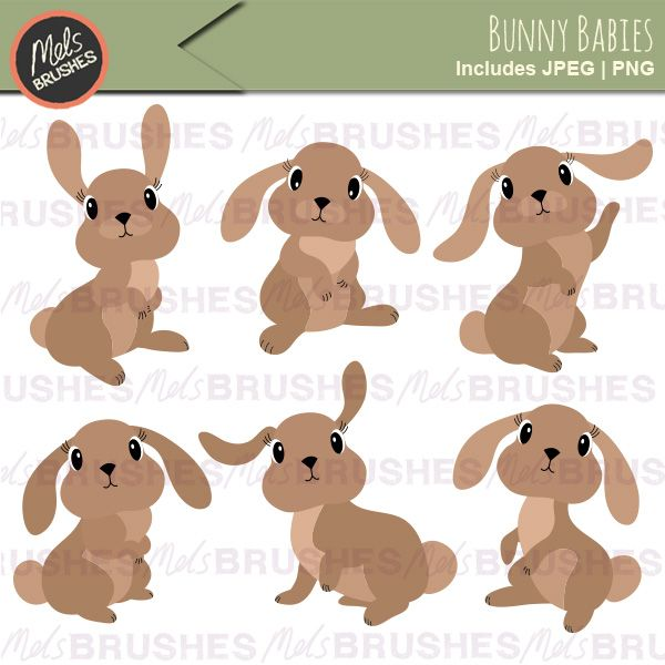 Baby bunny clipart images picture stock Baby Bunny Rabbit Clipart Illustrations | Mygrafico Illustrations ... picture stock
