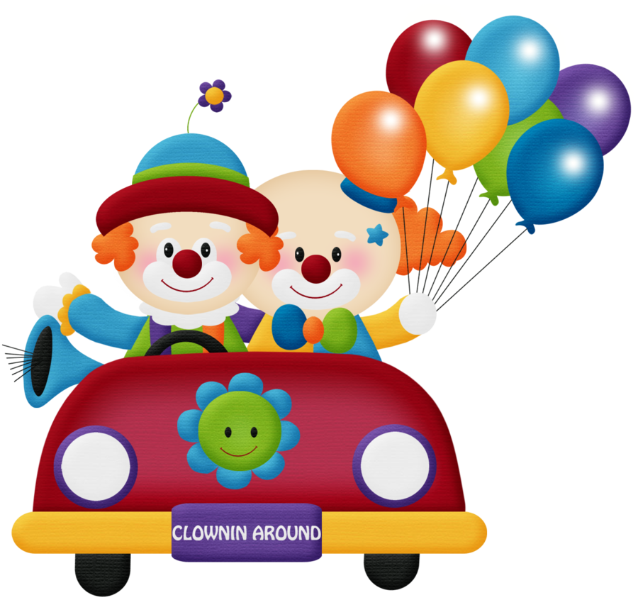 Clipart happy car png library stock circo - aw_circus_clown car 2.png - Minus | Circus clip | Pinterest ... png library stock