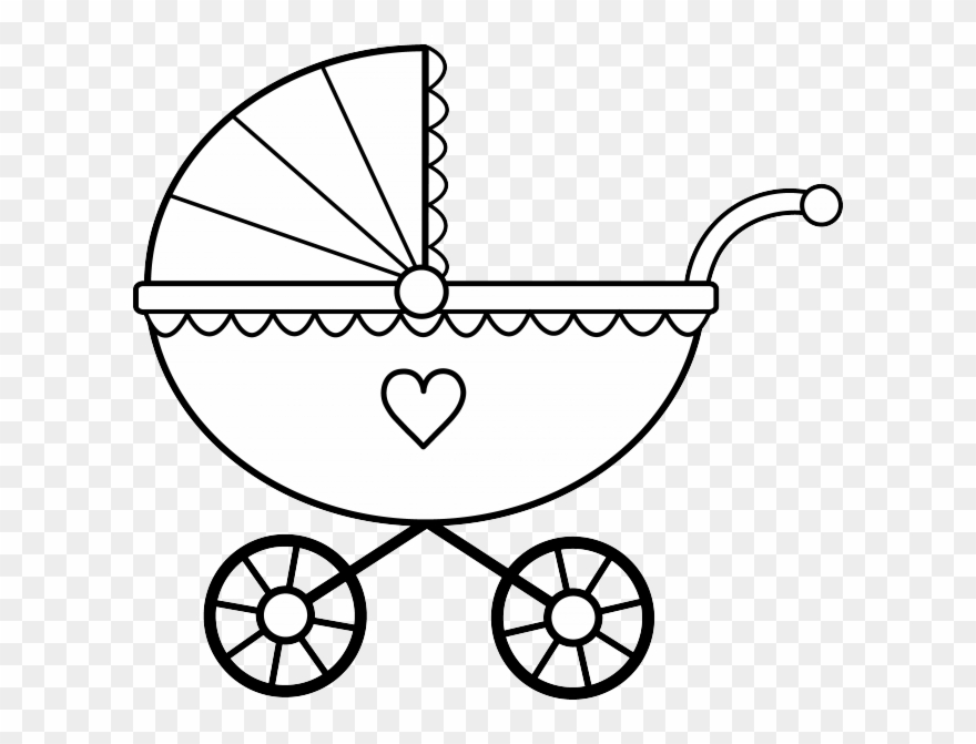 Baby carriage clipart black and white svg freeuse library Baby Clipart Black And White 19 Black And White Ba - Baby Carriage ... svg freeuse library