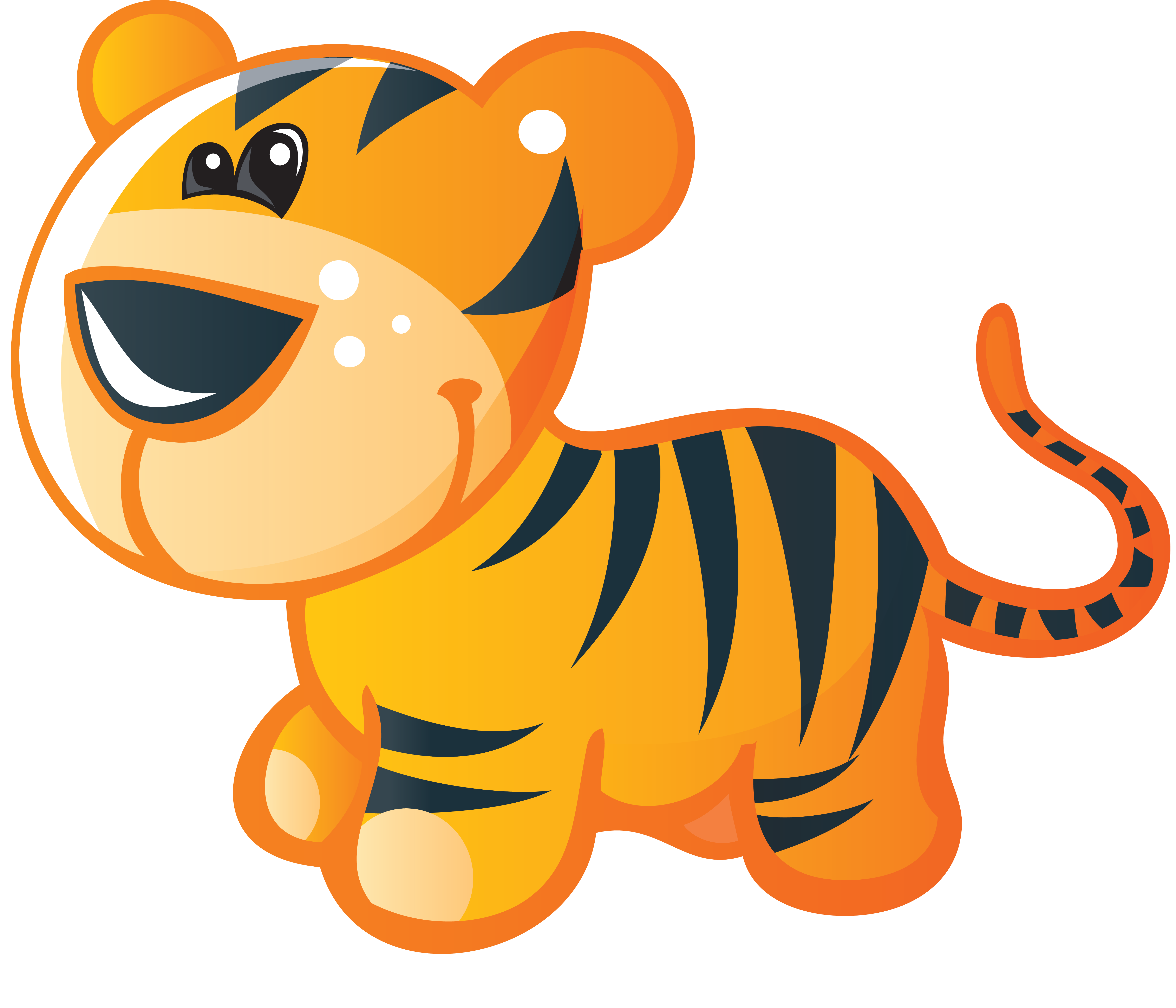 Baby cat clipart clip art download Baby Tigers Bengal tiger Cuteness Clip art - tiger 5700*4883 ... clip art download