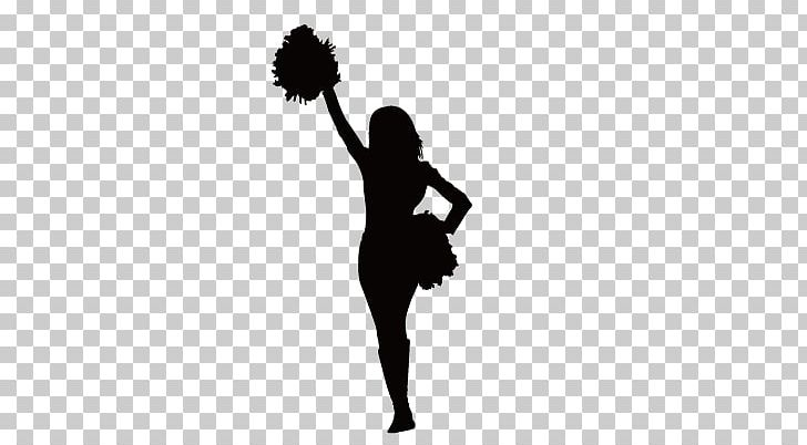 Baby cheerleader clipart black banner Sticker Cheerleading Decal Black And White PNG, Clipart, Animals ... banner