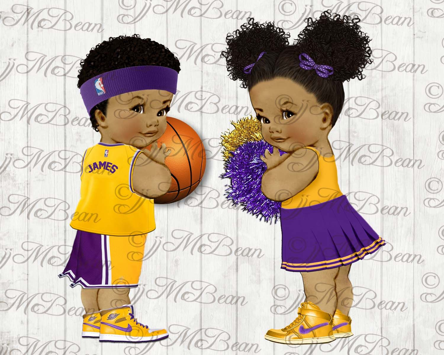 Baby cheerleader clipart black image royalty free library LA Lakers Baby Shower clipart | God son baby shower in 2019 | Baby ... image royalty free library